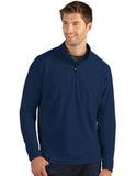 Antigua Glacier Men's 1/4 Zip Pullover Navy Thumbnail