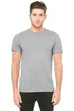 BellaCanvas Unisex Triblend Short Sleeve Tee Athletic Grey with Triblend Thumbnail