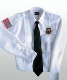 Class A 100 Polyester Long Sleeve Shirt White Thumbnail