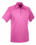 Under Armour Mens Corporate Rival Polo Pink Edge Thumbnail