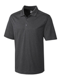 Cutter & Buck Men's DryTec Big & Tall Chelan Polo Shirt Charcoal Heather Thumbnail