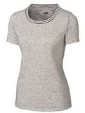 Women's Advantage Space-Dye Tee Elemental Gray Thumbnail