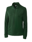 Women's Cutter & Buck DryTec Edge Full-Zip Jacket Hunter Thumbnail