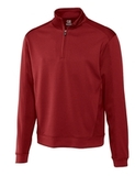 Cutter & Buck Men's DryTec Edge Half-Zip Cardinal Red Thumbnail