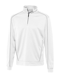 Cutter & Buck Men's DryTec Edge Half-Zip White Thumbnail