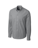 Cutter & Buck Men's Long Sleeve Epic Easy Care Gingham Charcoal Thumbnail