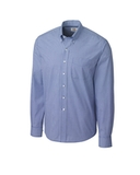 Cutter & Buck Men's Long Sleeve Epic Easy Care Gingham French Blue Thumbnail