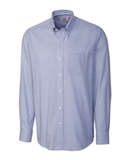 Cutter & Buck Men's Long Sleeve Epic Easy Care Tattersall French Blue Thumbnail