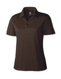 Women's Cutter & Buck DryTec Genre Polo Shirt Bark Thumbnail