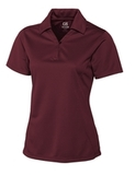 Women's Cutter & Buck DryTec Genre Polo Shirt Bordeaux Thumbnail