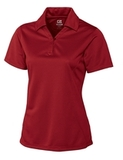 Women's Cutter & Buck DryTec Genre Polo Shirt Cardinal Red Thumbnail