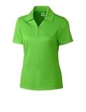 Women's Cutter & Buck DryTec Genre Polo Shirt Cilantro Thumbnail