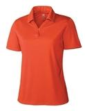 Women's Cutter & Buck DryTec Genre Polo Shirt College Orange Thumbnail