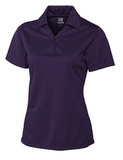 Women's Cutter & Buck DryTec Genre Polo Shirt College Purple Thumbnail