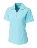 Women's Cutter & Buck DryTec Genre Polo Shirt Crystal Blue Thumbnail