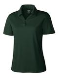 Women's Cutter & Buck DryTec Genre Polo Shirt Hunter Thumbnail