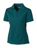Women's Cutter & Buck DryTec Genre Polo Shirt Midnight Green Thumbnail
