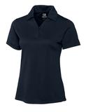 Women's Cutter & Buck DryTec Genre Polo Shirt Navy Blue Thumbnail