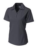 Women's Cutter & Buck DryTec Genre Polo Shirt Onyx Thumbnail