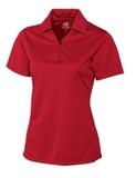 Women's Cutter & Buck DryTec Genre Polo Shirt Red Thumbnail