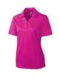 Women's Cutter & Buck DryTec Genre Polo Shirt Ribbon Pink Thumbnail