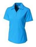 Women's Cutter & Buck DryTec Genre Polo Shirt Seaport Thumbnail