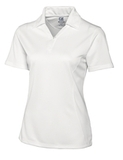 Women's Cutter & Buck DryTec Genre Polo Shirt White Thumbnail