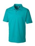Cutter & Buck Men's DryTec Genre Polo Shirt Aqua Thumbnail
