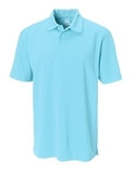 Cutter & Buck Men's DryTec Genre Polo Shirt Crystal Blue Thumbnail