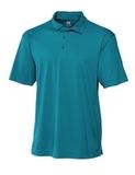 Cutter & Buck Men's DryTec Genre Polo Shirt Teal Blue Thumbnail