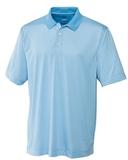 Cutter & Buck Men's DryTec Trevor Stripe Polo Shirt Atlas with White Thumbnail