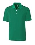 Cutter & Buck Men's DryTec Trevor Stripe Polo Shirt Loft with Black Thumbnail