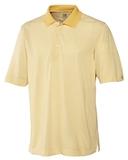 Cutter & Buck Men's DryTec Trevor Stripe Polo Shirt Pale Yellow with White Thumbnail