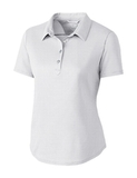 Women's Cutter & Buck Fiona DryTec Polo White Thumbnail