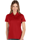 Antigua Women's Balance Polo Dark Red Thumbnail