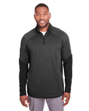 Under Armour Men's Qualifier Hybrid Corporate Quarter-Zip Black Thumbnail
