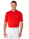Callaway Opti-vent Knit Polo Shirt Salsa Red Thumbnail