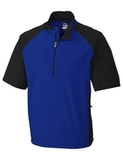 Men's Cutter & Buck WeatherTec Short Sleeve Summit 1/2-Zip Complex Thumbnail