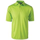 Reebok X-treme Golf Shirt Lime Green Thumbnail