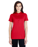Women's Under Armour Corporate Performance Polo 2.0 Red Thumbnail