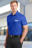 Nike Golf Dri-FIT Embossed Tri-Blade Polo Old Royal Thumbnail