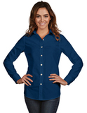 Women's Dynasty Dress Shirt Navy Thumbnail