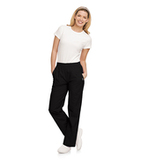 Eased Fit Scrub Pants Black Thumbnail