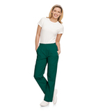 Eased Fit Scrub Pants Hunter Green Thumbnail