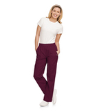 Eased Fit Scrub Pants Wine Thumbnail