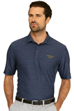 Greg Norman Play Dry Heather Solid Polo Navy Heather Thumbnail