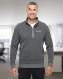 Under Armour Men's Elevate 1/4 Zip Sweater Graphite Thumbnail