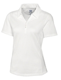 Women's Cutter & Buck DryTec Extended Sizes Championship Polo Shirt White Thumbnail