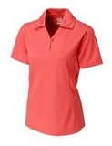 Women's Cutter & Buck DryTec Extended Sizes Genre Polo Shirt Coho Thumbnail