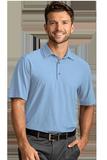 Greg Norman X-Lite 50 Solid Woven Polo Blue Stream Thumbnail